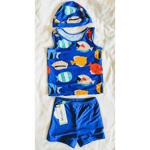 Other - New boys 3 pcs swim set size 3